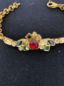 D'Orlan Vintage Jeweled Bracelet