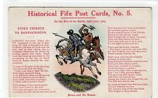 BRUCE AND DE BOUNE: Historical Fife Post Card No. 5 (C10366)