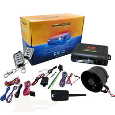 CRIMESTOPPER SECURITY PLUS SP-402 SECURITY SYSTEM REMOTE START KEYLESS ENTRY NR