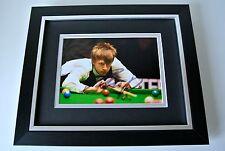 Judd Trump SIGNED 10X8 FRAMED Photo Mount Autograph Display Snooker & COA