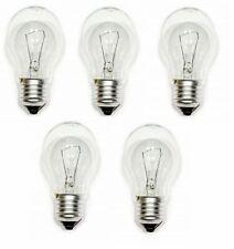 40w Watt Standard Bulbs ES E27 Screw Fit Clear Classic GLS Light Lamps 5 Pack