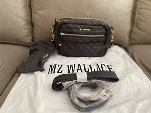 MZ Wallace Small Crosby - Magnet (Gold Hardware) NWOT