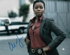 """ERICA TAZEL SIGNED """"JUSTIFIED""""  SIGNED  AUTHENTIC GUARANTEED"""