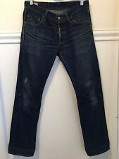 SELF EDGE X SUPERFUTURE X DRY BONES Selvedge Denim Jeans Size 29   Japanese