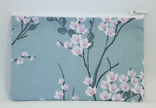 Japanese Blossom Fabric Handmade Zippy Coin Purse Storage Pouch