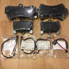 VW Touareg (7L)~Audi Q7 (4L)~Porsche Cayenne (955) FRONT REAR Pads with Sensors