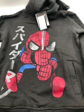 Tokidoki Amazing Spider Man Hoodie Small Grey (J1)