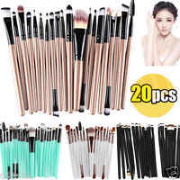 20PCS Makeup Brush Set Powder Foundation Eyeshadow Eyeliner Lip Brushes Tool Kit