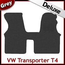 Volkswagen VW Transporter T4 1990-2004 Tailored LUXURY 1300g Carpet Mat GREY