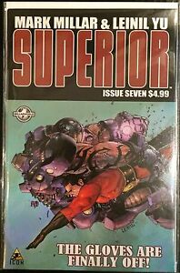 Superior #7 VF+/NM- 1st Print Free UK P&P Icon Comics