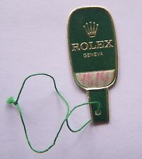 Vintage Rolex label Hang Tag from 60's