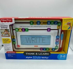 Fisher-Price Think & Learn Alpha SlideWriter New 3-6 Preschool (M1)
