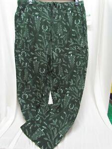 JOE BOXER DEER PINE TREE DEER Pajamas Lounge Pants Mens 100% Cotton SMALL