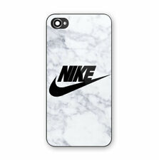 Nike White Marble Print Plastic Case iPhone 5 5s SE 6 6s 7 8 X XS XR 11 Pro Max