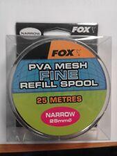 1 recharge filet soluble carpe fox pva  25 mm Fine