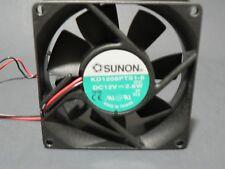 "SUNON KD1208PTS1-6 FAN 80X80X25mm 12VDC 2.6W ""US SELLER"" ""FREE US SHIPPING"""
