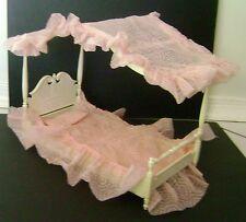 Vintage Barbie Susie Goose Canopy Bed 1960's Rare