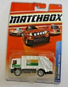 2007 Matchbox City Action 08 Garbage Truck / NOS