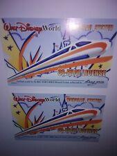 +One Co Pilot License Free Disney Monorail Co Pilot License Original Rare 2000