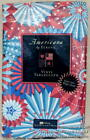 New ELRENE FOURTH 4th OF JULY VINYL TABLECLOTH 52 x 120 PATRIOTIC RED WHITE BLUE
