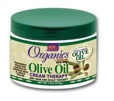 Africa's Best Organics Aceite de Oliva Crema Tratamiento Cabello y el cuero cabelludo seco 7.5 OZ (approx. 212.62 g)