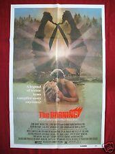 THE BURNING * 1981 ORIGINAL MOVIE POSTER 1SH RARE TOM SAVINI CROPSY HALLOWEEN NM