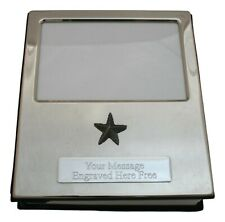 Star Fish Design Silver Personalised Album FREE ENGRAVING 100 Photos 427