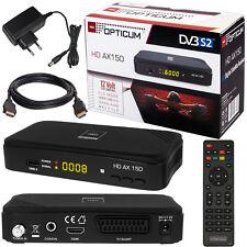 OPTICUM AX 150 mit PVR FULL HD TV Digital Sat Receiver DVB-S2 Easy Find USB HDMI