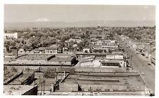 RPPC,Yakima,WA.Bird's Eye View & Mt.Adams in Distance,Ellis Photo,c.1945-50s