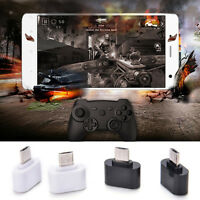 2PC Micro USB Male to USB 2.0 Adapter OTG Converter For Android Tablet Phone LC