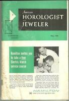 Lot of Three 1959 American Horologist and Jeweler Magazines May/August/December