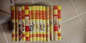 LOT livreS bibliotheque rouge et or Hachette avec jaquette PAIRAULT DIELETTE etc