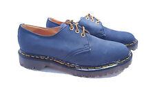 💥 Dr. Martens Doc England Rare Vintage Blue Suede Leather Gibsons UK 4 US 6 💥