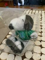 Snoopy Peanuts SAVE OUR PLANET Earth Day Stuffed Animal Plush Toy Dog NEW Mint
