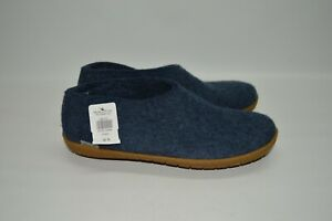 Glerups Grey Slippers 100 % Pure And Natural Wool Low Women's Boots 40