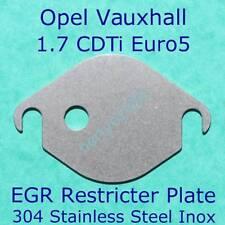 EGR restricter Plate Opel Vauxhall Corsa Astra Zafira Meriva 1.7CDTI Euro5 block