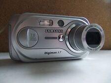 samsung a7 digital camera /silver