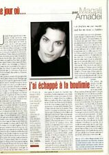 Coupure de presse Clipping 2007 Magali Amadei  (1 page)