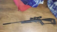 Rosman .177cal 515x29389 pelet rifel black works great and is sighted with scope