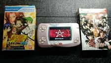 Wonderswan Color with IPS backlight screen + 2 WS color games Bandai