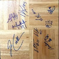 2009 UConn Final 4 team signed floor (Jim Calhoun Stanley Robinson Kemba Walker)