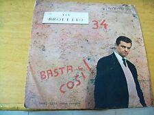 "SERGIO ENDRIGO VIA  BROLETTO 34 7"" RCA  LUIZ ENRIQUEZ"