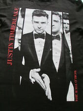 Justin Timberlake The 20/20 Experience World 2014 Tour T-Shirt Size S Small