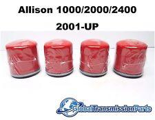 GM Allison 1000 2000 Transmission Truck External Spin On Filter 4-Pack 29537268