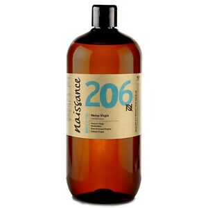 Naissance Hemp Seed Oil, Virgin Cold-Pressed 1 Litre