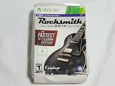 NEW (w/ Box Wear) Rocksmith 2014 Edition XBox 360 Game + Ubisoft Real Tone Cable