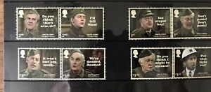 Royal Mail Mint Stamps ~ Presentation pack ~ 2018 ~ 8 DADS ARMY STAMPS
