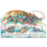 Pitcairn Islands 2013 Lobsters Stamp Miniature Sheet Mint Unhinged