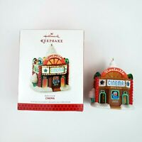 Hallmark Keepsake Noelville Cinema Christmas Tree Ornament 2013