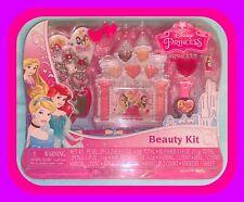 💖 DISNEY PRINCESS, BEAUTY KIT Gloss Lipstick Polish Earrings Blush & MORE!!💖